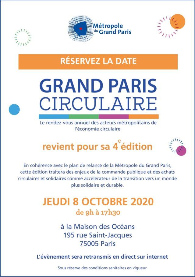 Grand Paris circulaire @ Maison des Océans